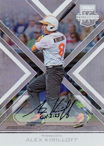 2016 Panini Elite Extra Edition Baseball Autographs Alex Kirilloff