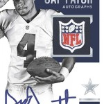 2016 Panini Encased Football Rookie Cap Patch Autos Platinum