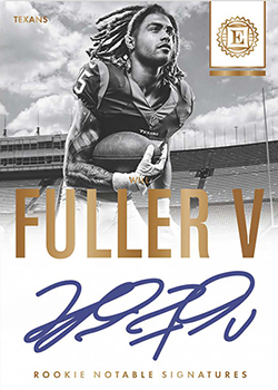 2016 Panini Encased Football Rookie Notable Signatures feature