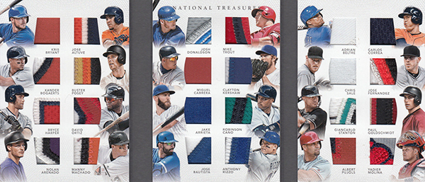 2016 Panini National Treasures Baseball Treasure Chest 24 Prime