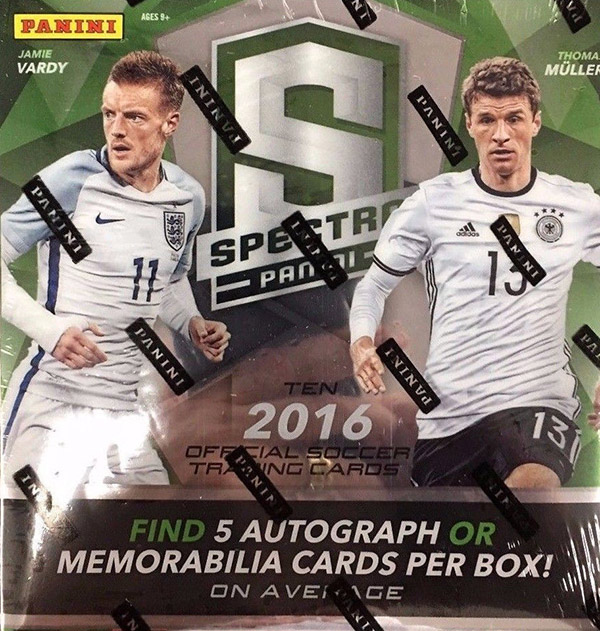 2016 Panini Spectra Soccer Box