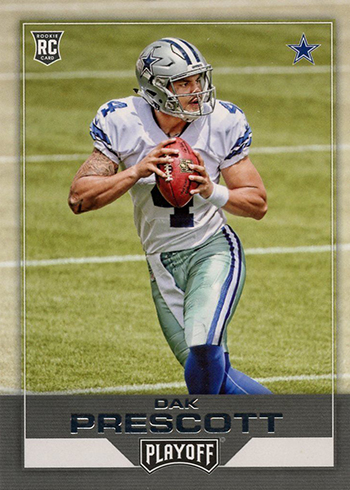 2016 Playoff Dak Prescott RC