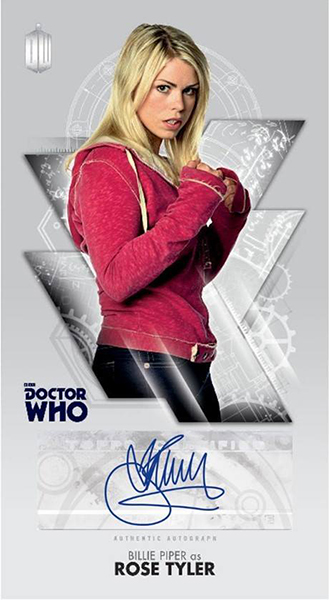 2016 Topps Doctor Who Tenth Doctor Adventures Widevision Autograph Piper