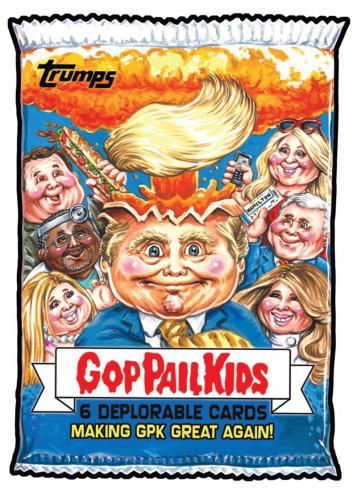 2016 Topps Garbage Pail Kids Dis-grace to the White House 108 GOP Pail Kids