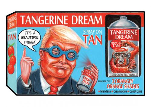 2016 Topps Garbage Pail Kids Dis-grace to the White House 116 Tangerine Dream