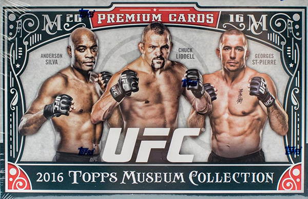 2016 Topps Museum Collection UFC Hobby Box