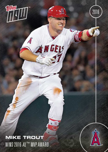 2016 Topps Now OS-31 Mike Trout