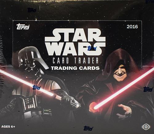 2016 Topps Star Wars Card Trader Box