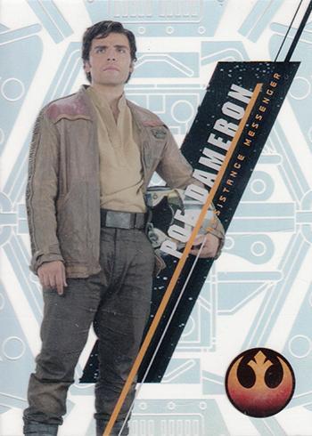 2016 Topps Star Wars High Tek Variation Short Prints SW-100A Poe