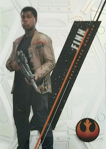 2016 Topps Star Wars High Tek Variation Short Prints SW-87A Finn