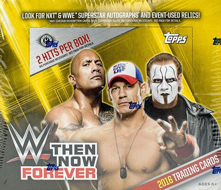 2016 Topps WWE TNF Hobby Box