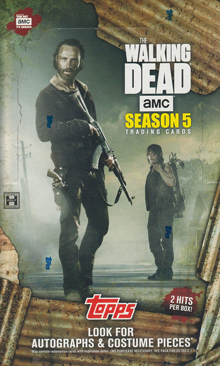 2016 Topps Walking Dead Season 5 Box