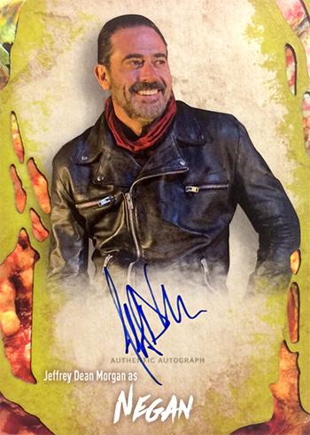 2016 Topps Walking Dead Survival Box Jeffery Dean Morgan Autograph