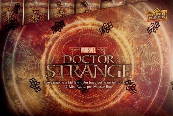 2016 Upper Deck Doctor Strange Hobby Box