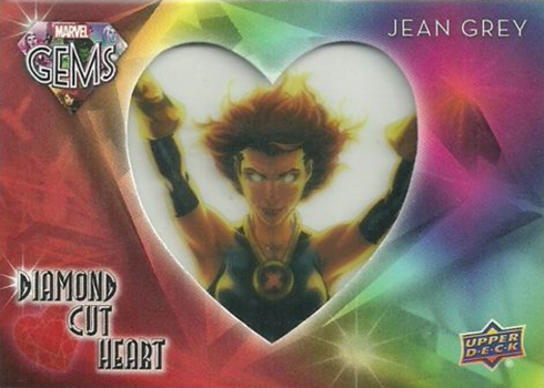 2016 Upper Deck Marvel Gems Diamond Cut Heart