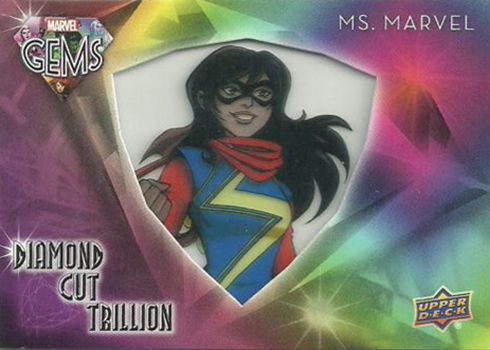 2016 Upper Deck Marvel Gems Diamond Cut Trillion