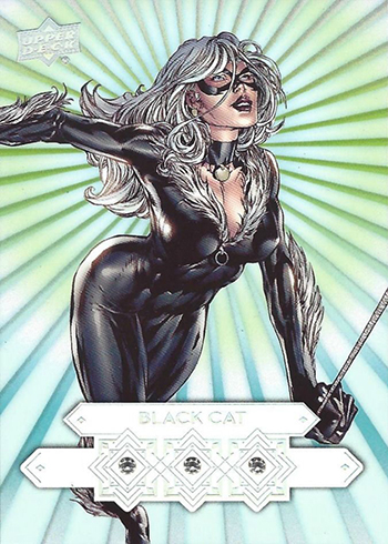 2016 Upper Deck Marvel Gems Diamond Mine Triple Black Cat