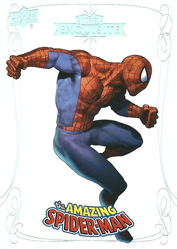 2016 Upper Deck Marvel Gems Exquisite Spider-Man