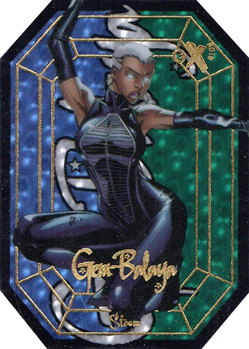 2016 Upper Deck Marvel Gems Gem-Balaya