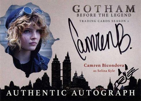 2017 Cryptozoic Gotham Season 2 Autographs Camren Bicondova