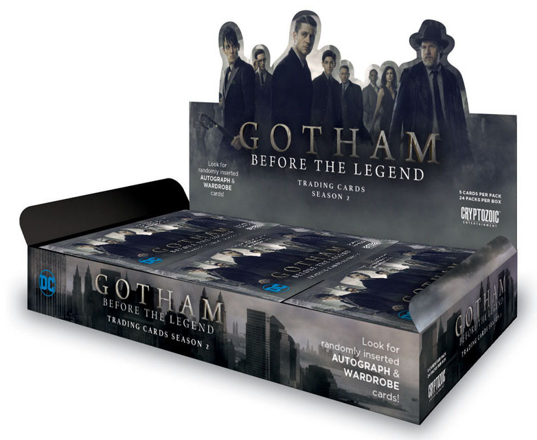 2017 Cryptozoic Gotham Season 2 Box