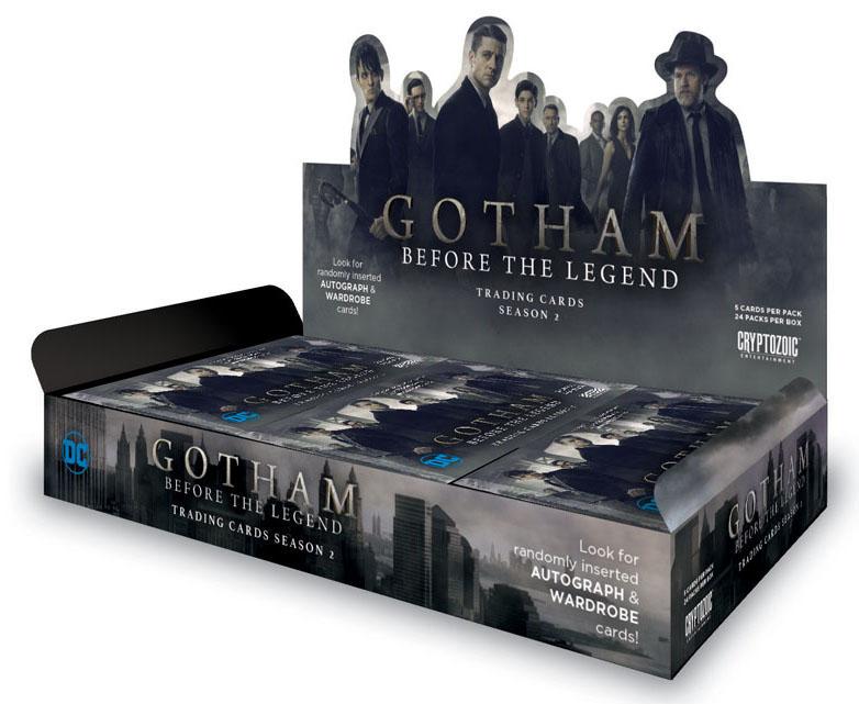 2017 Cryptozoic Gotham Season 2 Box