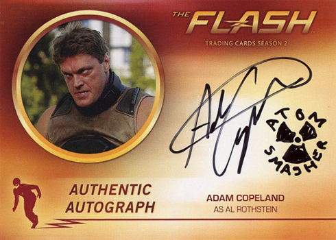 2017 Cryptozoic The Flash Season 2 Autographs Adam Copeland