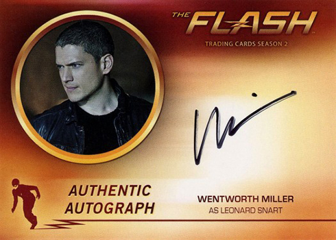 2017 Cryptozoic The Flash Season 2 Autographs Wentworth Miller