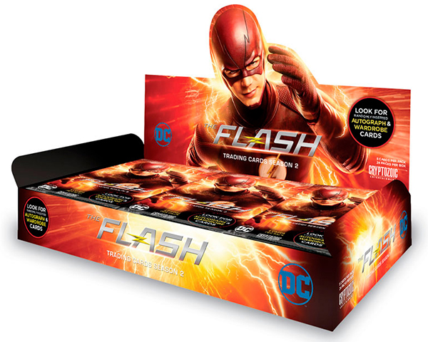 2017 Cryptozoic The Flash Season 2 Box