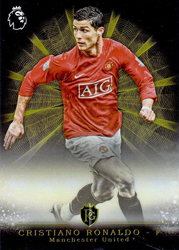 2017 Topps Premier Gold EPL Soccer Brilliance of the Pitch Cristiano Ronaldo
