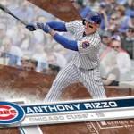 2017 Topps Series 2 Baseball Base Memorial Day Rizzo