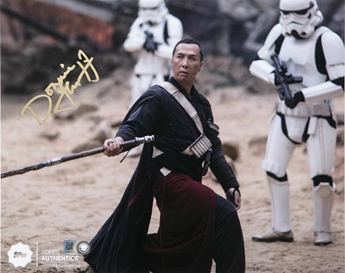 Star Wars Authentics Donnie Yen Autograph