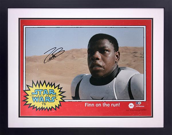 Star Wars Authentics John Boyega Autograph