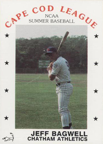 1988 Cape Cod Prospects P and L Promotions Jeff Bagwell