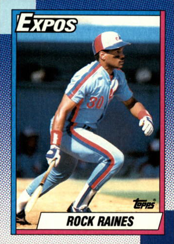 1990 Topps Tim Raines
