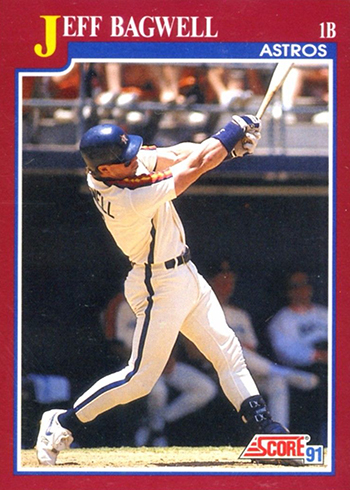 1991 Score Rookie Traded Jeff Bagwell RC