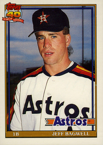 1991 Topps Traded Jeff Bagwell RC