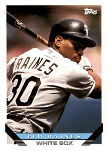 1993 Topps Tim Raines