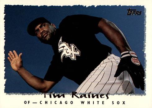 1995 Topps Tim Raines