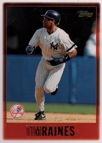 1997 Topps Tim Raines