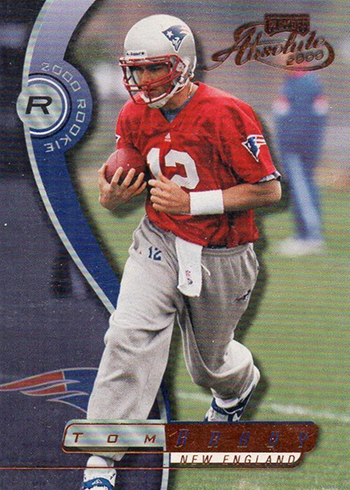 2000 Absolute Tom Brady RC