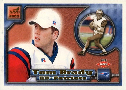 2000 Aurora Tom Brady RC