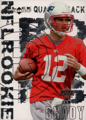 2000 Black Diamond Tom Brady RC