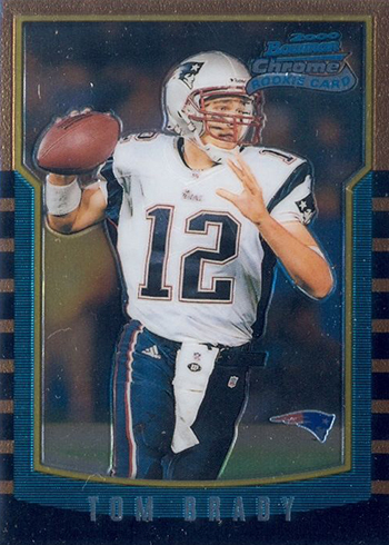 2000 Bowman Chrome Tom Brady RC