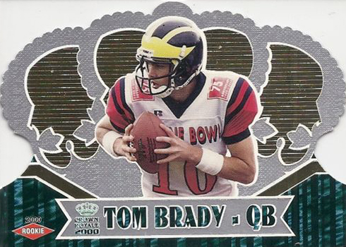 2000 Crown Royale Tom Brady RC