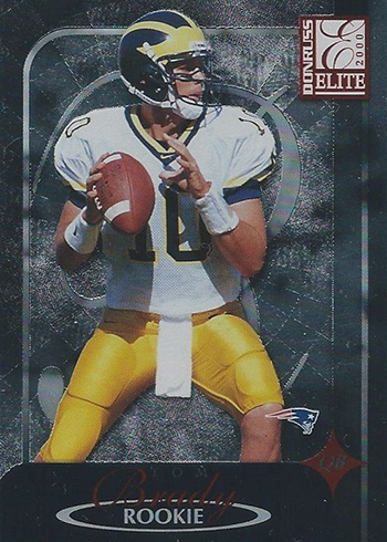 2000 Elite Tom Brady RC