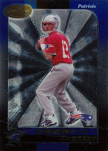 2000 Leaf Certified Tom Brady RC