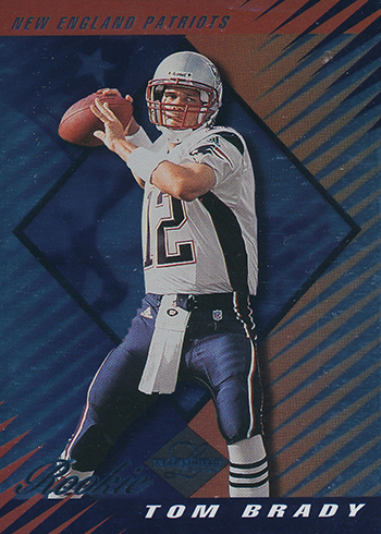 2000 Leaf Limited Tom Brady RC