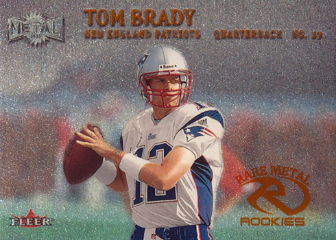 2000 Metal Tom Brady RC