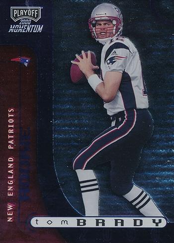 2000 Momentum Tom Brady RC